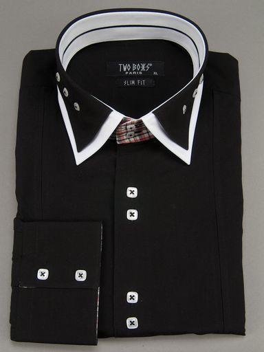 2089 T&B Shirts-Black