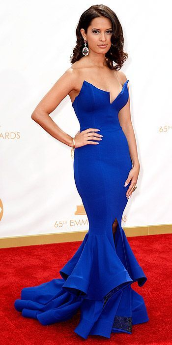 Rocsi Diaz at the 2013 Emmy Awards: People.com