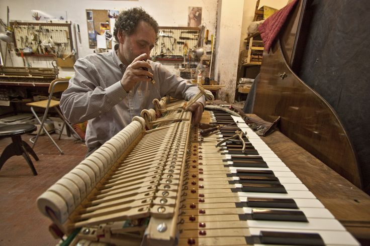 Marcello Tarquini - Restauro pianoforti