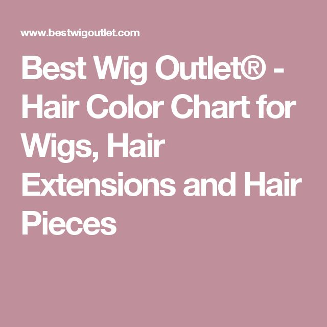 17 best ideas about Hair Color Charts – Hair Color Chart