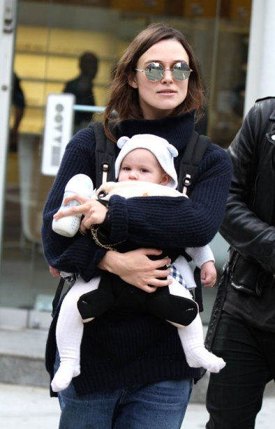 Keira Knightley and James Righton and their baby out and about in NYC
