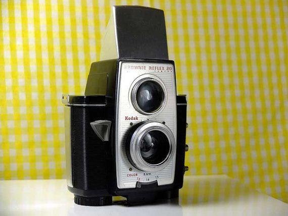 Kodak Brownie Reflex 20 TLR camera by Eastman by VintageCameraClub, $49.00