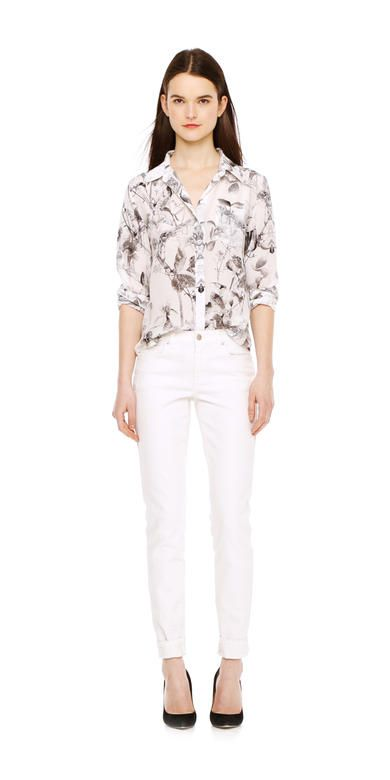Print Silk Shirt from Joe Fresh. Our luxurious new silk shirts come in the season's bright, brilliant prints. Only $59.