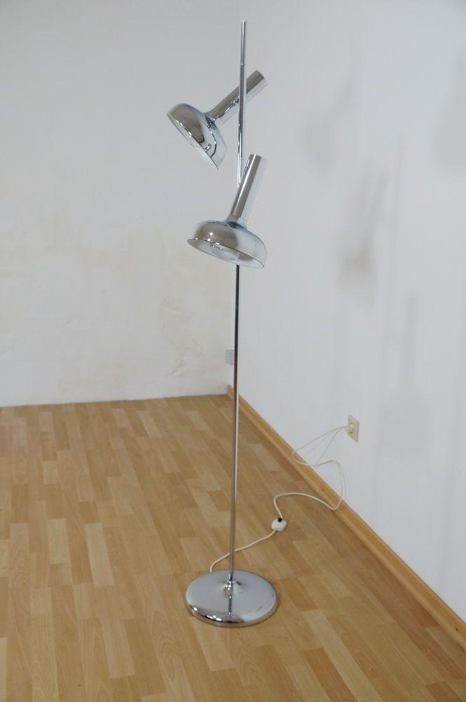 Spectacular Design Stehlampe er gro e Schirme VERKAUFT nach Paris Frankreich