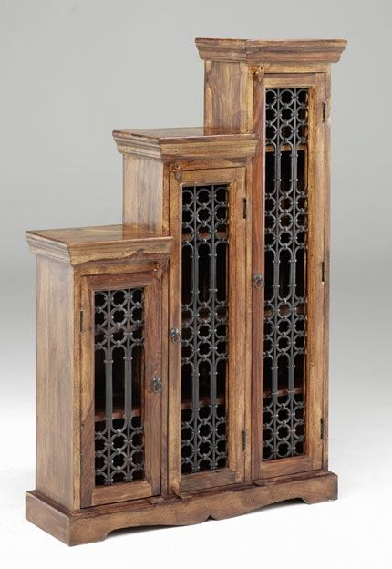 Jali Tall Step CD Cabinet   left or right step Jali and Thacket furniture  is the. The 25  best Sheesham wood furniture ideas on Pinterest   Computer
