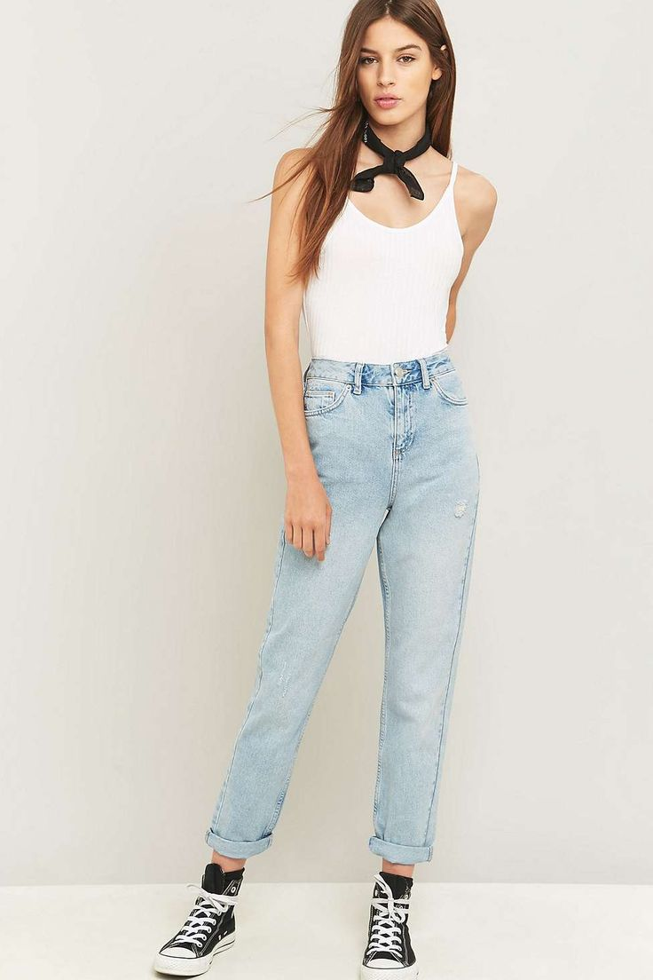 BDG Bleached Mom Jeans