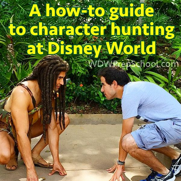 Character hunting: a how-to guide (including how to interact with the characters when you meet them)