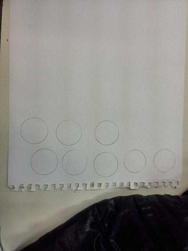 Circunferencies (que fan de focus de llum)