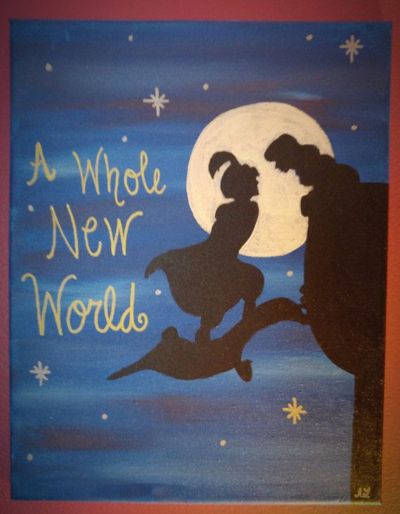 Hey, I found this really awesome Etsy listing at https://www.etsy.com/listing/259482876/aladdin-and-princess-jasmine-silhouette