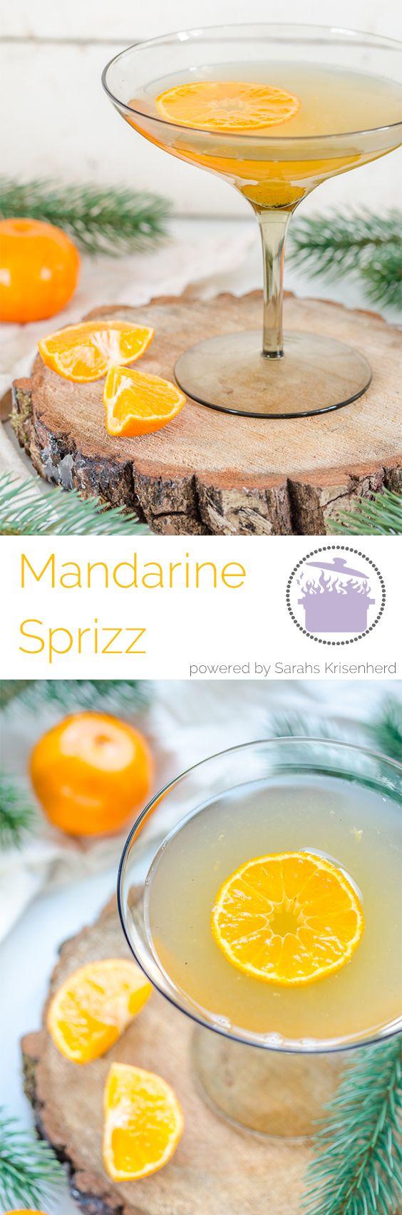 Rezept für den Adventsdrink 2016: Mandarine Sprizz
