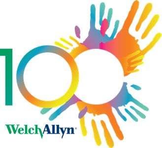 WA 100 Year Anniversary logo – Welch Allyn Blog