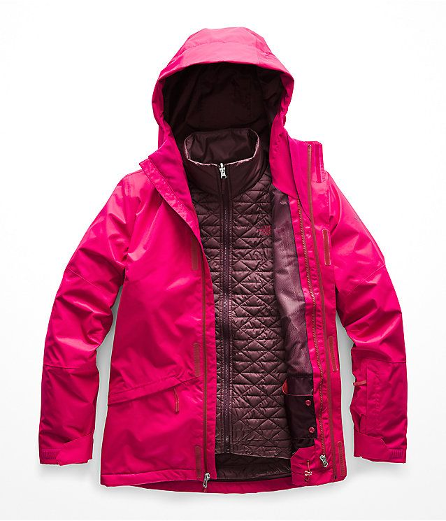 Women S Thermoball Snow Triclimate Jacket The North Face North Face Thermoball Jacket Triclimate Jacket Jackets For Women