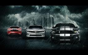 American Muscle Ford Dodge and Chevy