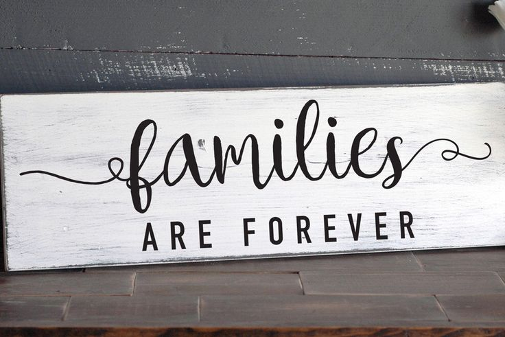 Families Are Forever Sign, Family Home Wall Art, LDS Art, Farmhouse Signs, Wall Hanging, Wood Sign Home Sign White and Black, 22x7 by RusticaHomeDecor on Etsy https://www.etsy.com/listing/471624223/families-are-forever-sign-family-home