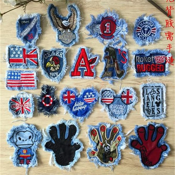 Cartoon-font-b-jean-b-font-cute-iron-on-patches-for-clothes-Sew-on-embroidered-patch.jpg (900×900)