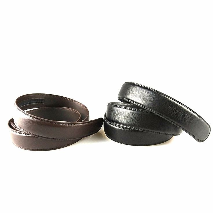 BT No Buckle 2pcs Wide Real Genuine Leather Belt Without Automatic Buckle Strap Designer Belts Men High Quality cheap