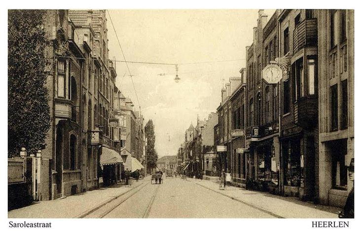 Saroleastraat. 14-08-1925. Heerlen.