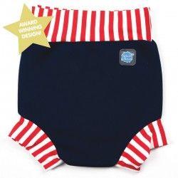 Happy Nappy zwembroek baby Navy  De Splash About Happy Nappy zwemluier maakt babyzwemmen nog leuker. Eindelijk een herbruikbare zwemluier die echt niet doorlekt!