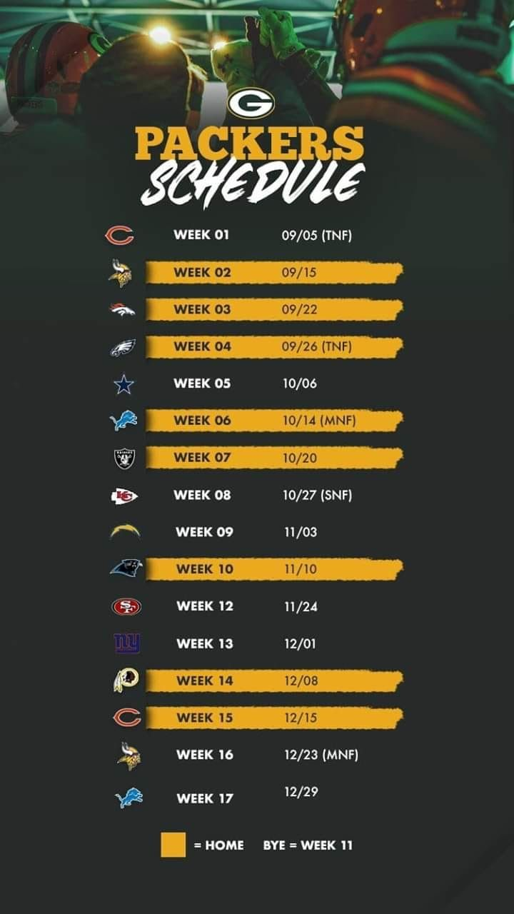 Here Is Our Map To The Super Bowl Rick Packers Schedule Packers Green Bay Packers Football