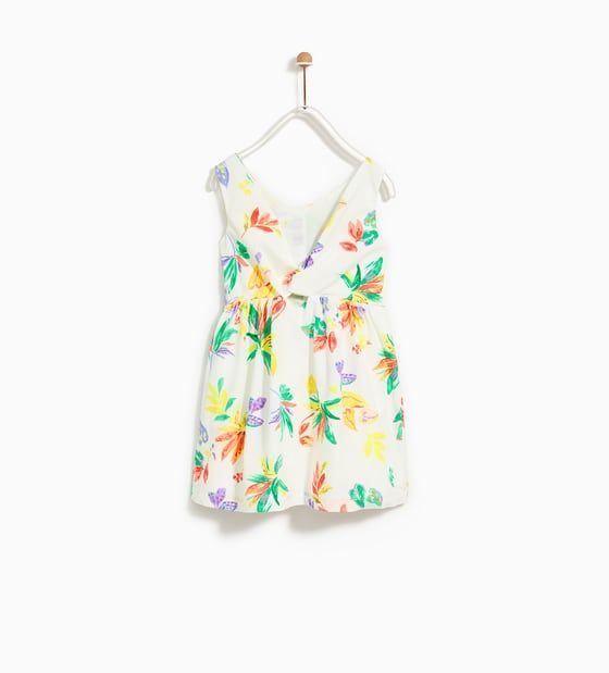 7d5e6bfc9 Image 2 of FLORAL DRESS from Zara | B's Style | Dresses, Summer ...
