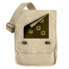 Folded Dice Field Bag