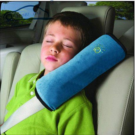 1 pcs Assento Safety Car Belt Harness Capa Almofada de Ombro/Crianças Suave Proteção Ombro Cobre Almofada de Apoio Travesseiro 3 cores