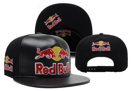 Red Bull Leather Snapback|only US$20.00 - follow me to pick up couopons.