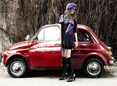 Sexy Fiat 500 and Sexy Girl | Fiat500 & Women | Fiat 500c ...