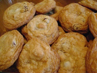 """JUST Chocolate Chip Cookies ~ Sometimes it's good to go back to   the basics. Chocolate chip cookies are the first ones my mom showed me how to make when I was a child. These """"simple"""" recipes are often the roots of the more complicated ones."""