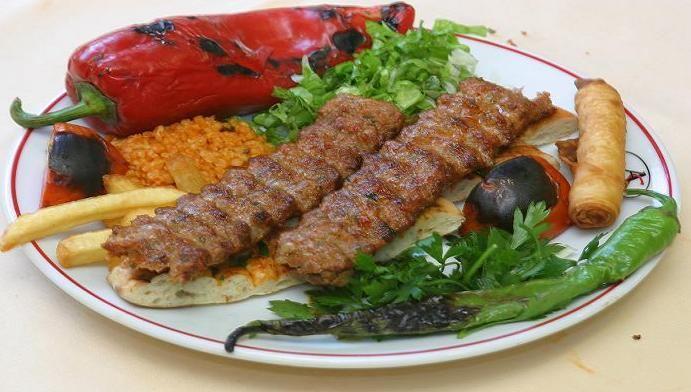 Adana kebap...one of my favorite Turkish foods...