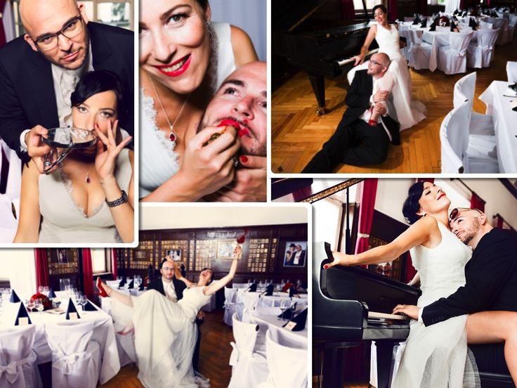 flippiges hochzeitshooting / crazy wedding shooting #redneck #swing #hochzeit #schwarzweissrot #wedding #eventkomponisten #kaiknoerzerphotography