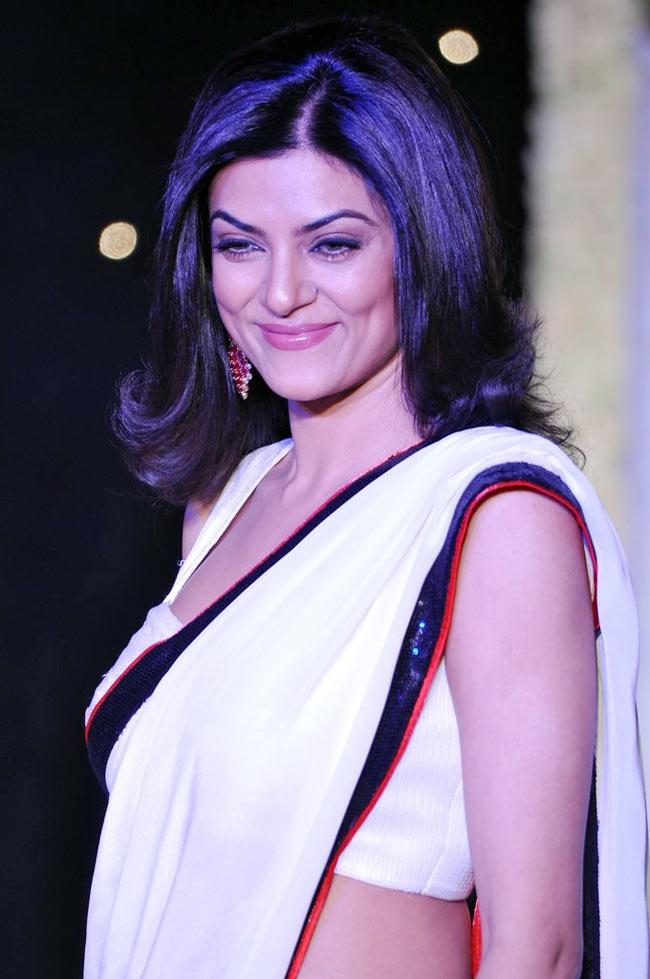 Sushmita Sen at the Beti Fashion Show 2013.