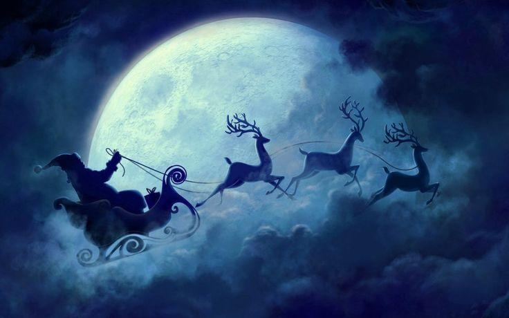 дед мороз летит с оленями: 7 тыс изображений найдено в Яндекс.Картинках