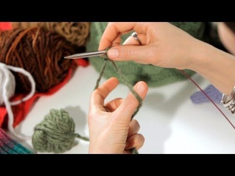 How to Do a Long-Tail Cast-On | Knitting - YouTube