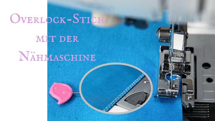 Du brauchst keine Overlock,um schöne, saubere Overlock-Nähte hinzukriegen. Wir zeigen dir, wie der Overlock-Stich mit der Nähmaschine funktioniert!