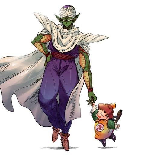 Dragonball Z. Piccolo and Gohan
