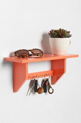 Plum and Bow Key Holder Shelf - StudentRate