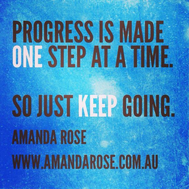 Progress tip 101