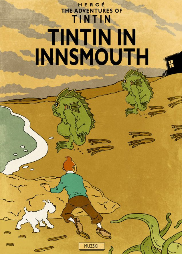 Murray Groat // Tintin + Lovecraft