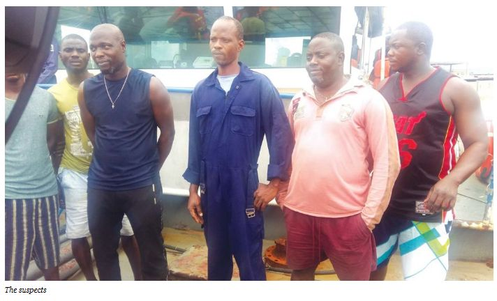 Nigerian Navy arrests two vessels with suspected stolen diesel