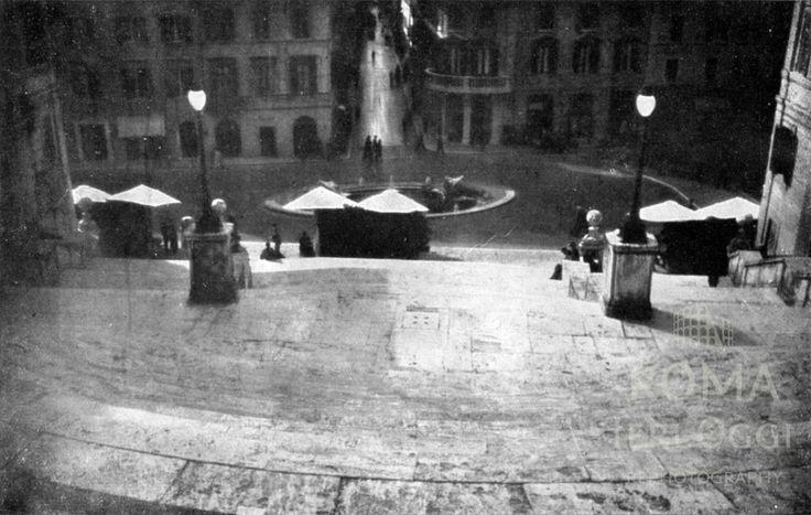 Scalinata Trinità dei Monti - Piazza di Spagna  1941/1942