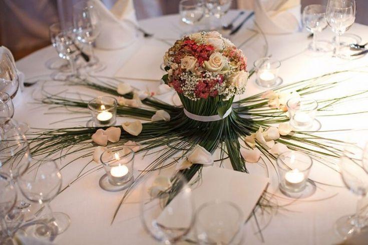 tafel bloemstukjes huwelijk - Google zoeken