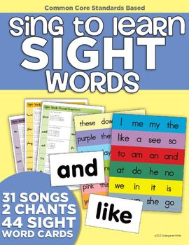 Meet your reading standards by teaching through song!KindergartenWorks brings you 31 original song lyrics set to classic tunes that will have all of your students singing along - learning how to spell and recognize their sight words!You can also use these songs to prompt students while students are reading and writing independently.Included are:-31 mp3 files (songs you can play on a computer or burn to a CD) of original song lyrics set to classic tunes- 4 pages of the sight word song lyrics…