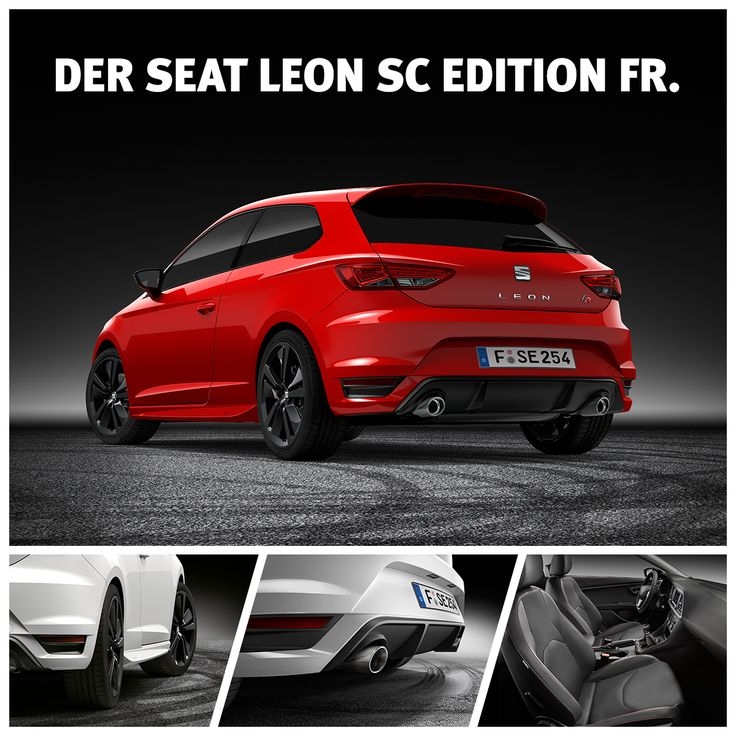 jetzt schnell den seat leon sc edition fr mit dem plus an. Black Bedroom Furniture Sets. Home Design Ideas
