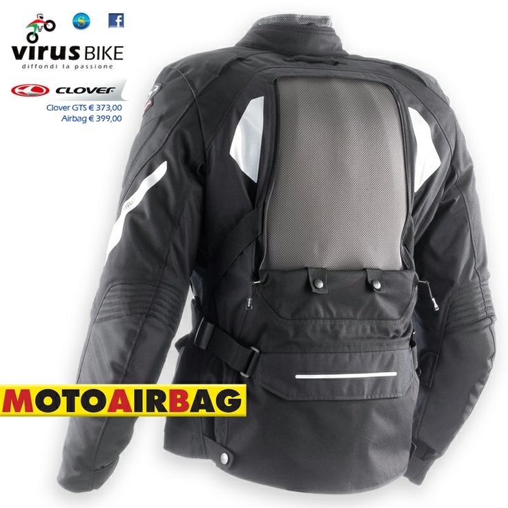 Clover GTS Airbag disponibile presso Virus Bike Salerno virusbike@libero.it
