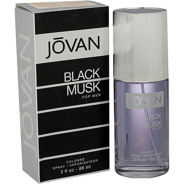 Jovan Black Musk Eau de Cologne for Men