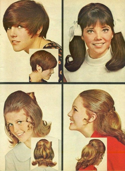60's hairstyle.