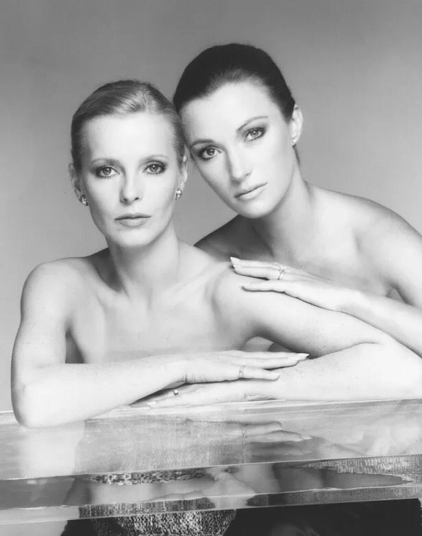 Cheryl Ladd and Jane Seymour.