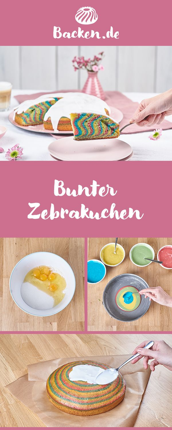 Bunter Zebrakuchen Recipe In 2018 Bithday Cake And More