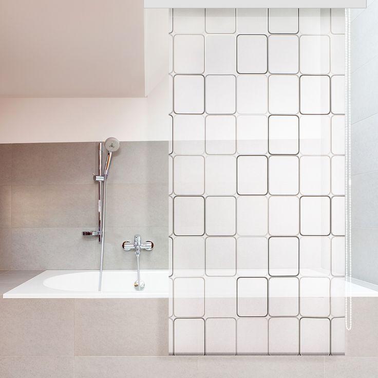 Die besten 25+ Einzigartige Duschvorhänge Ideen auf Pinterest - rollo für badezimmer